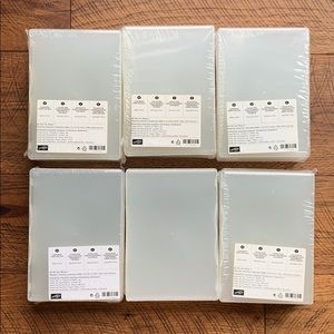 Stampin Up Clear Mount Cases 24 Total